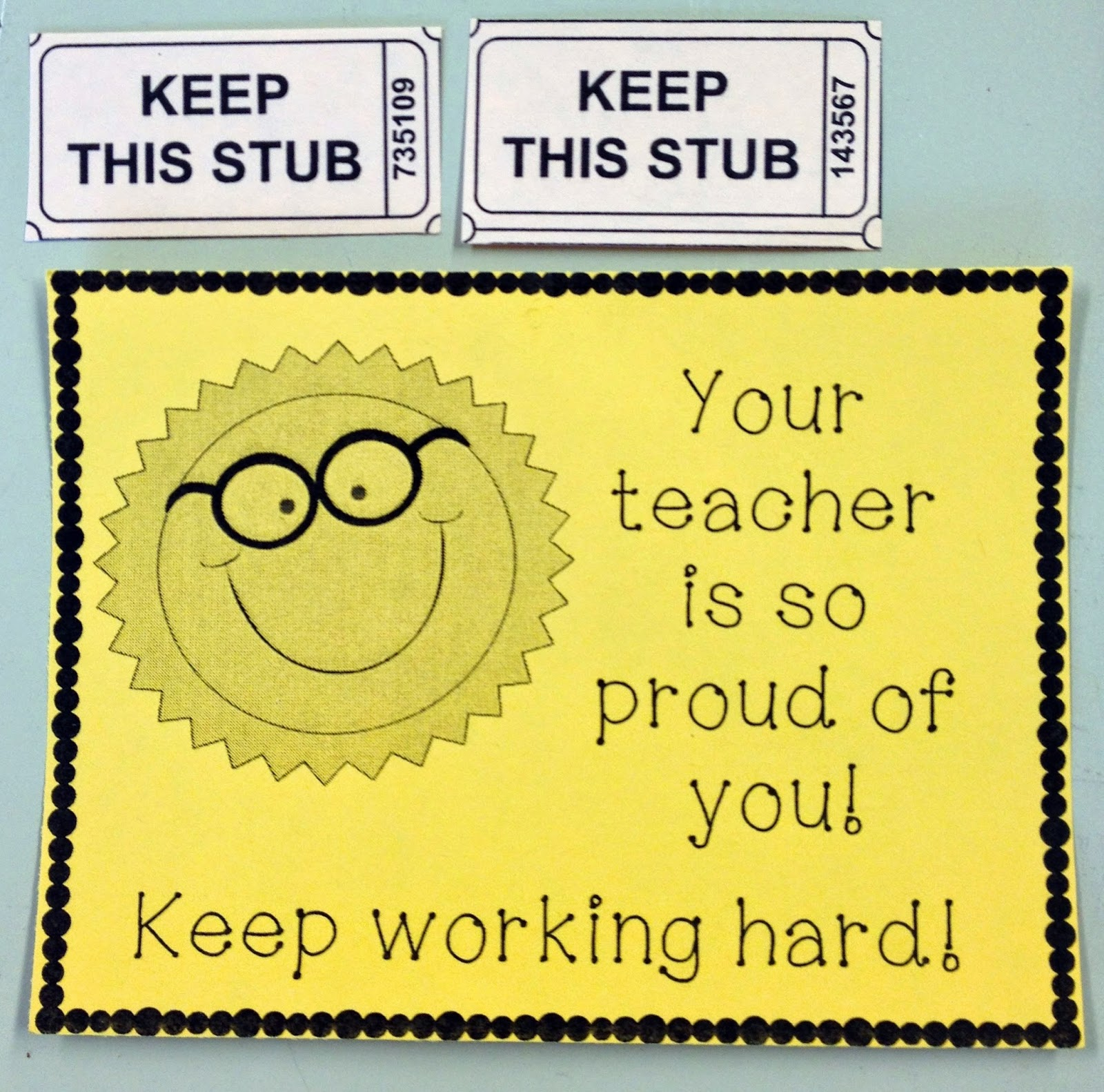 Notes Of Encouragement For Students: Sparking Student Motvation: Testing Encouragement Cards