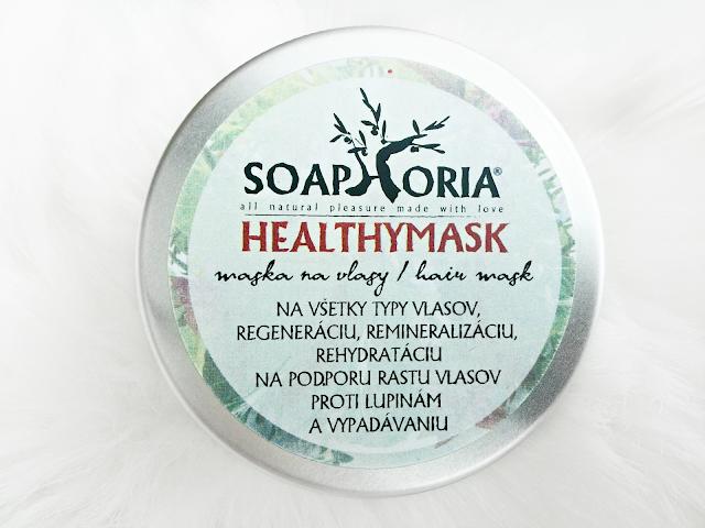 Soaphoria Healthymask - regenerační a vyživující maska na vlasy z Krásná Každý Den