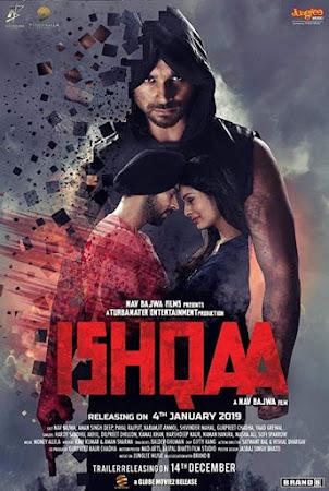Poster Of Punjabi Movie Ishqaa 2019 Full HD Movie Free Download 720P Watch Online