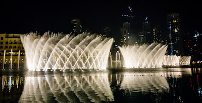Dubai Fountain - 6D3N Amazing Dubai by Royal Brunei - Salika Travel