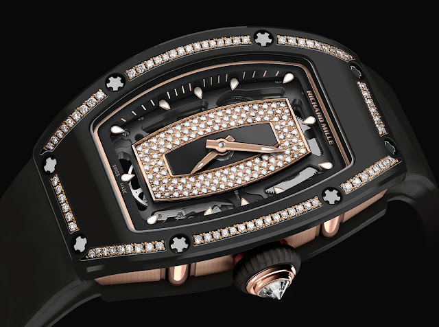 Richard Mille - RM 07-01 in Gem-Set Black Ceramic