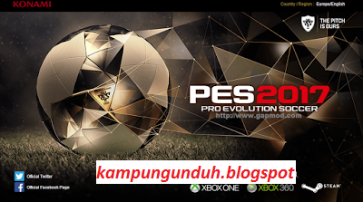 Download PES 2017 APK + DATA For Android Free