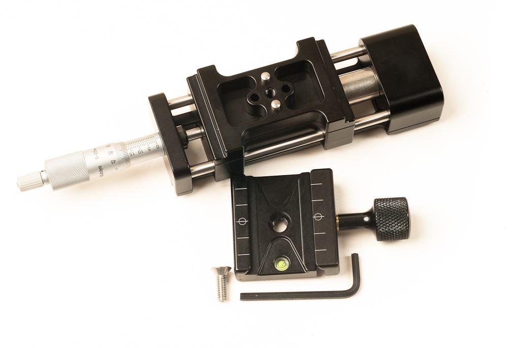 Hejnar PHOTO MS4 Macro / Micro Rail - alignment pin reorientation