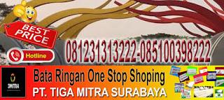 informasi dan pemesanan bata ringan di Kecamatan Lakarsantri Surabaya