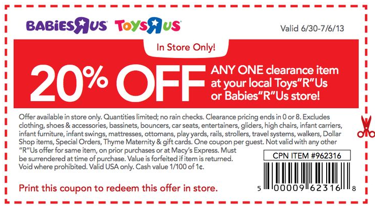 photograph regarding Toy R Us Printable Coupons titled Toddlers r us on the net crib discount coupons / Chase coupon 125 money