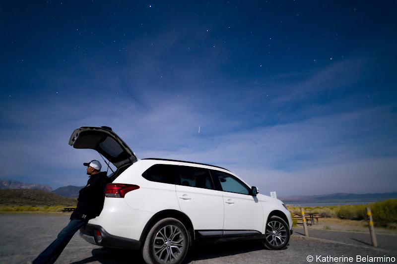2016 Mitsubishi Outlander SEL S-ASC Mono Lake Things to Do in Mammoth in Summer