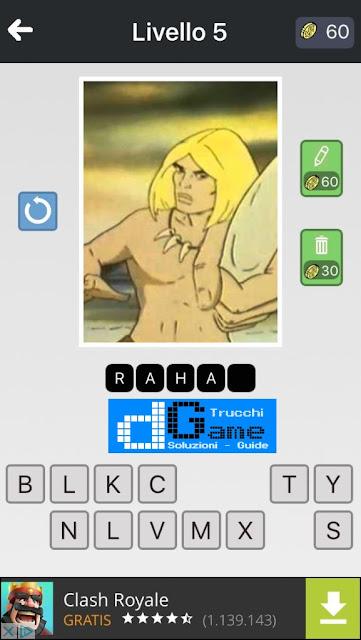 Anime Quiz soluzione pacchetto 5 livelli (1-12)
