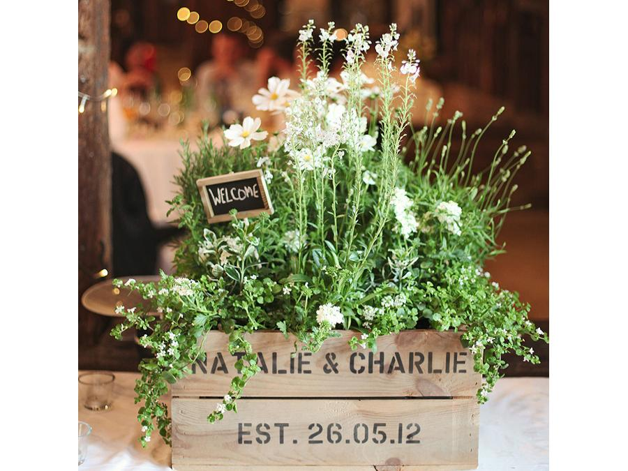 Gift Idea Rustic Wedding Crates Bride De Force