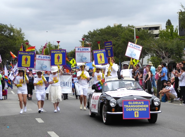 LA Pride Parade Gloria Allred Transgender Defenders