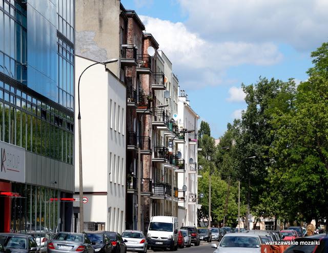Warszawa Warsaw Praga Południe kamienice ulica Kamionek