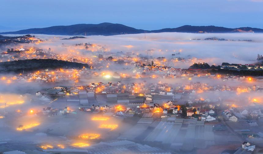 Sương mù Đà Lạt