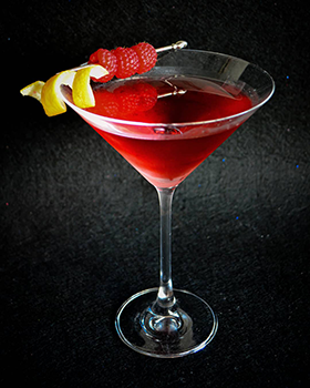 Bombay Bramble Martini