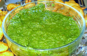 Coriander Chutney (Sauce)