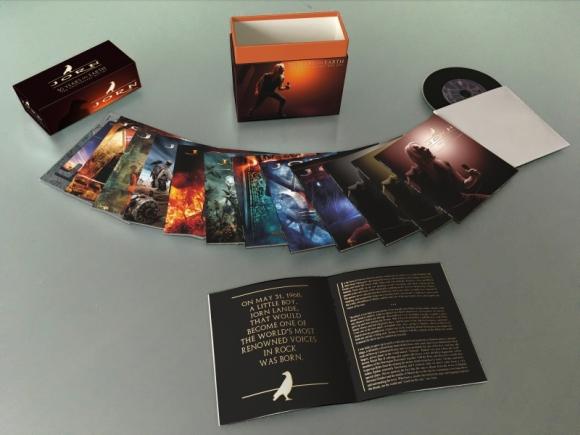 JORN - 50 Years On Earth ; The Anniversary Box Set [12 CD] (2018) box open
