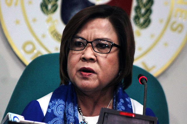 De Lima: Senate to charge cops involved in extrajudicial killings
