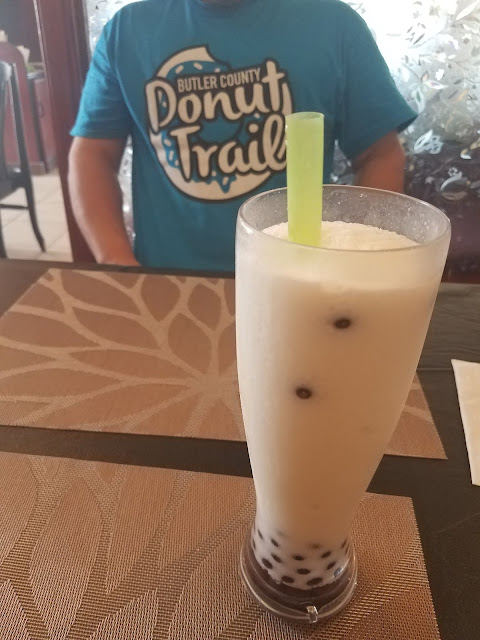 Thai Koon, thai restaurant in Butler Co, coconut bubble tea, Butler Co Donut Trail