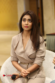Shriya Saran Nandamuri Balakrishna at Gautamiputra Satakarni Team Press Meet Stills  0092.JPG