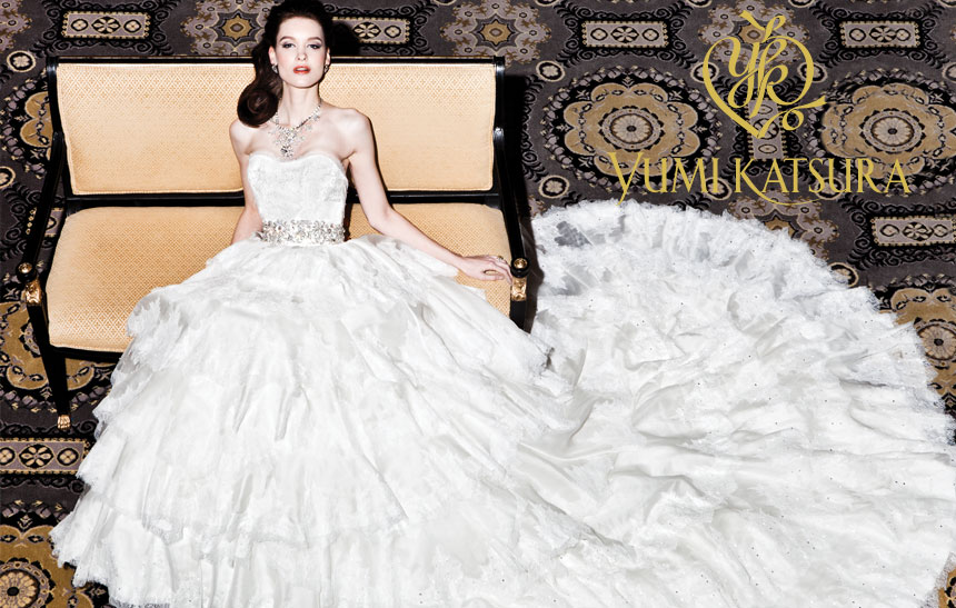 An 8 Million Dollar Wedding Dress Yumi Katsuras For Sale And Fall 2016 Collection Has Always Been Trending All Over