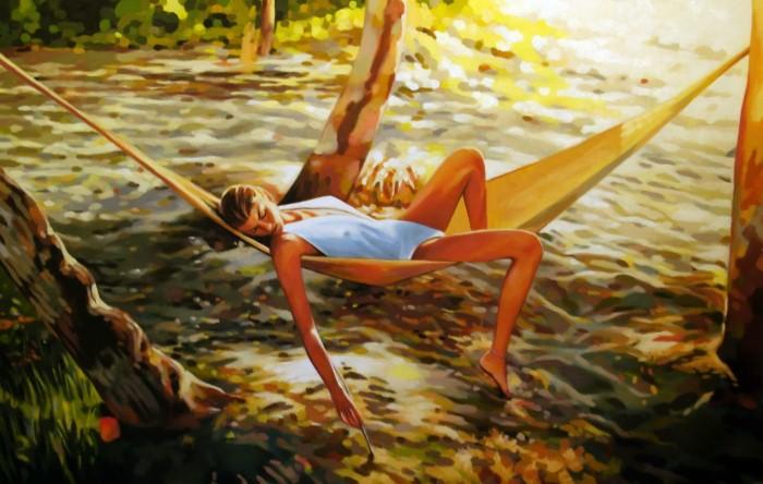 Современный художник. Thomas Saliot 11