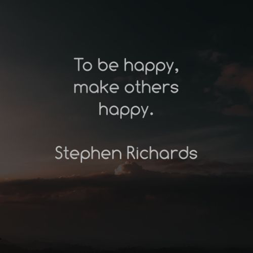 Quotes about happy thoughts in life