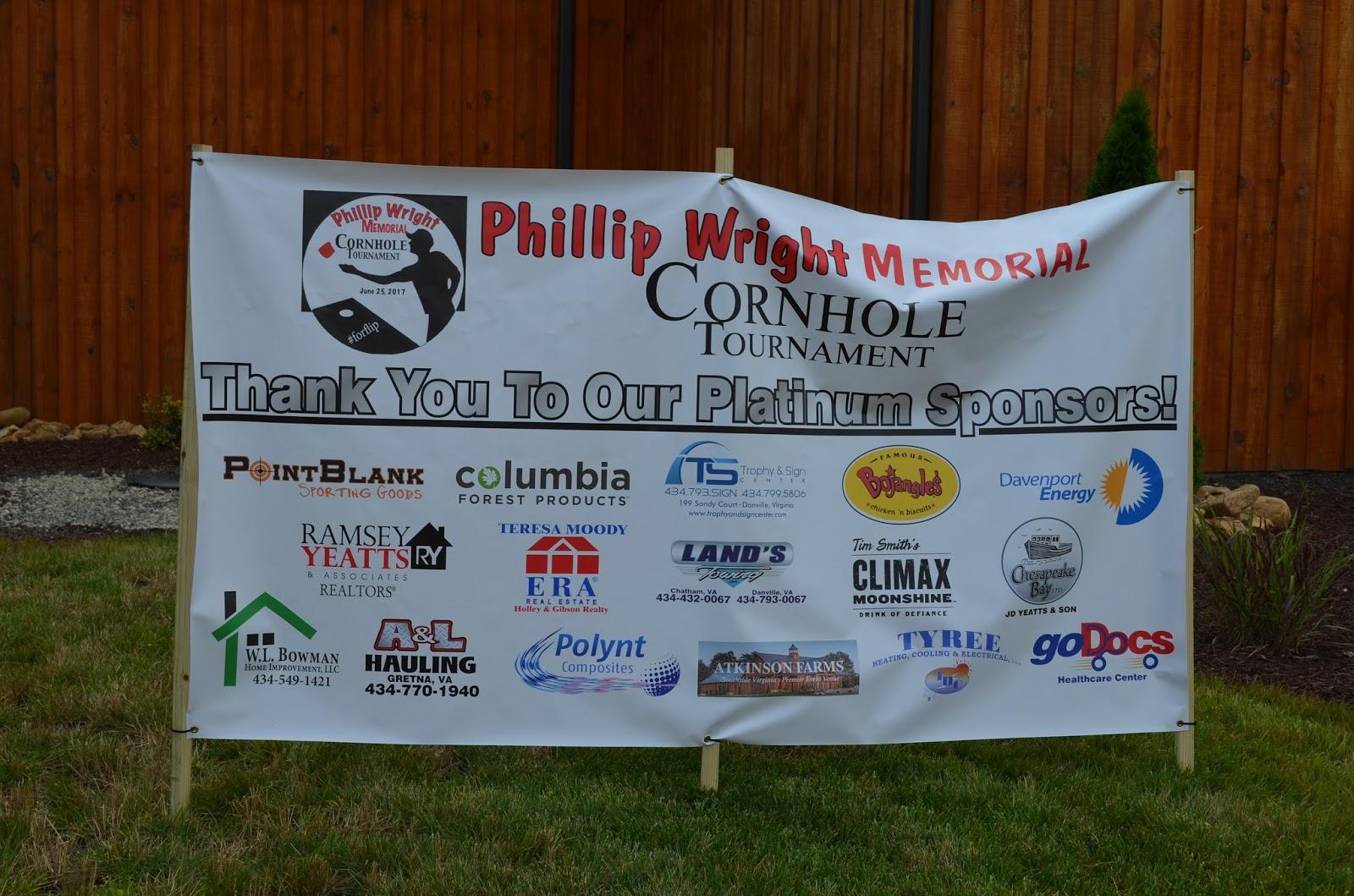 Phillip Wright Memorial Cornhole Tournament