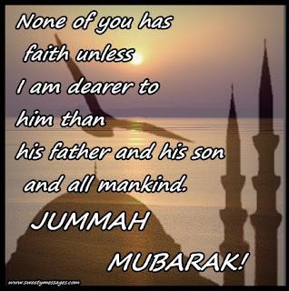 jumma mubarak cards
