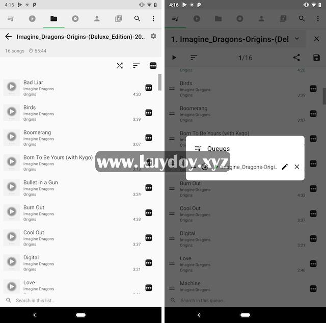 20 Aplikasi Pemutar Musik Terbaik Untuk Android