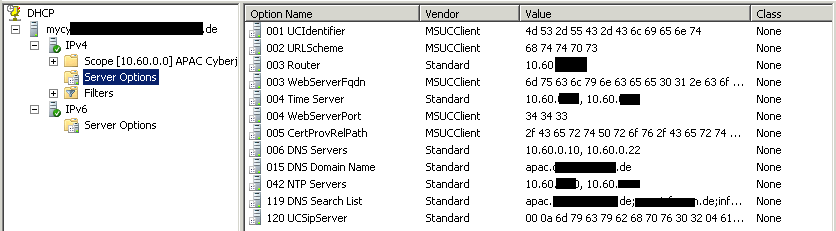 LYNC Device Configuration (DHCP) - Step by Step