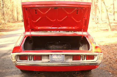 1971 Dodge Charger Sport Coupe Baggage