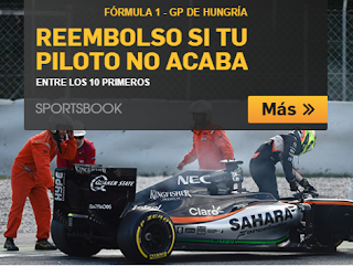 betfair bono 25 euros GP Hungria F1 24 julio 2016