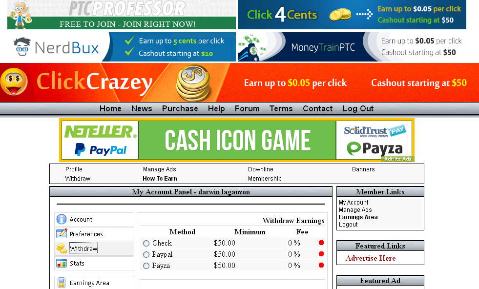 clickcrazey review legitimate or scam site 2015