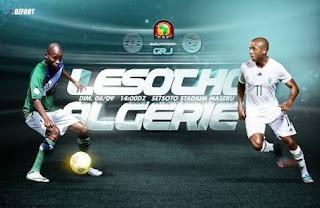 الجزائر VS لوزوتو (التوقيت والقنوات الناقلة)