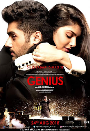Poster Of Hindi Movie Genius 2018 Full HD Movie Free Download 720P Watch Online