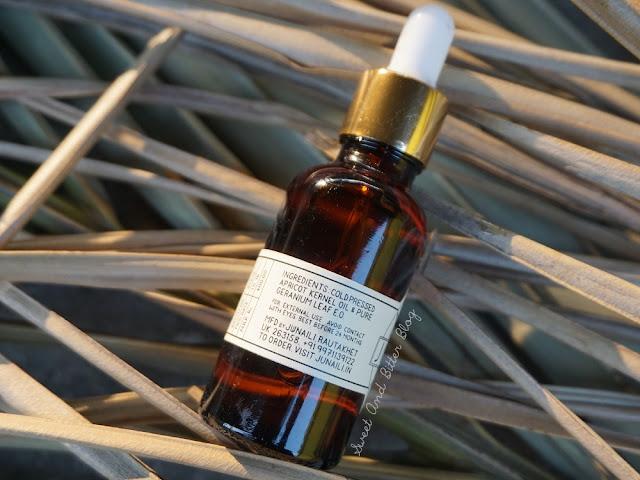 Cold Pressed Apricot Kernel Oil and Geranium Leaf Essential Oil
