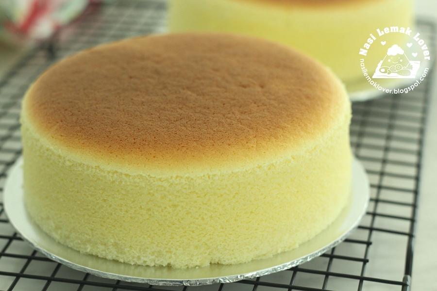 Japanese Cream Cheese Chiffon Cake