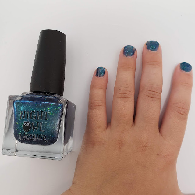 night owl lacquer, tiny hands