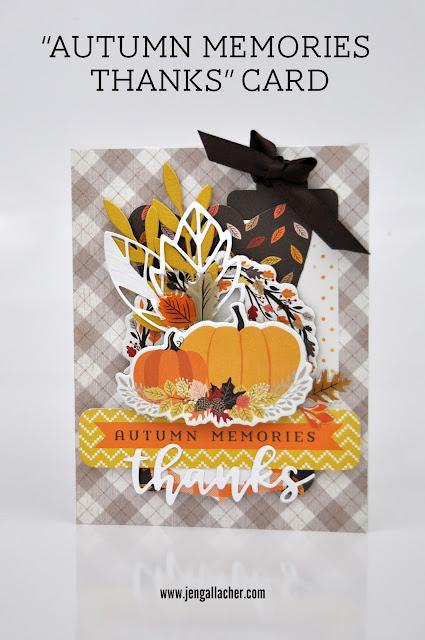 """Autumn Memories"" Card"