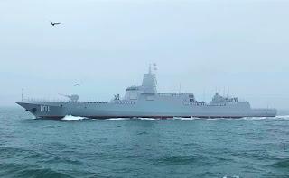 Kapal Perusak Nanchang Tipe 055 AL China (PLAN)