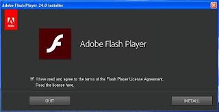 Flash Player 2017 versi 24 Offline Installer