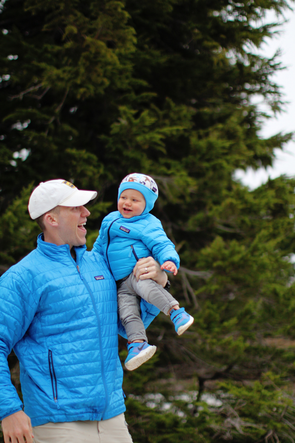 Matching Patagonia gear for dad & baby
