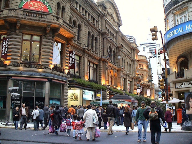 Compras em Buenos Aires no mês de agosto