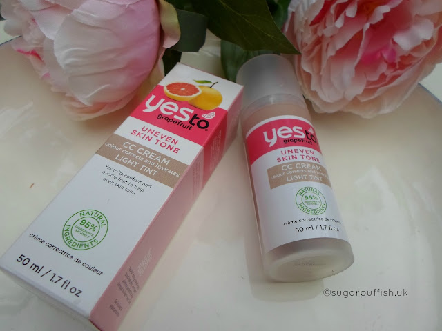 Review Yes to Grapefruit CC Cream Light Tint