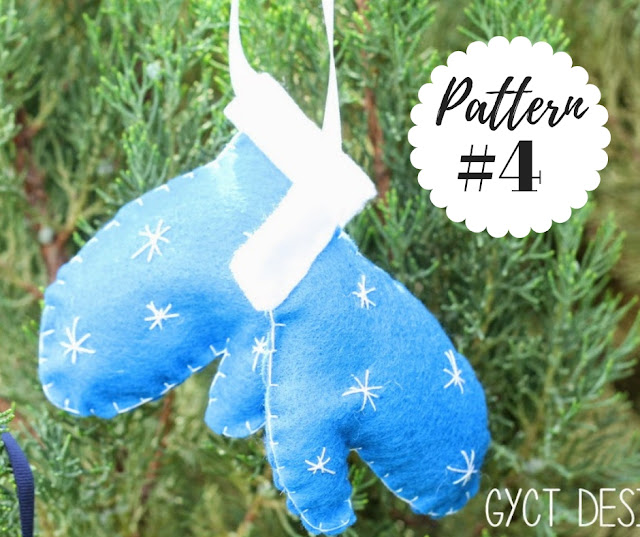5 Free Printable Christmas Sewing Patterns