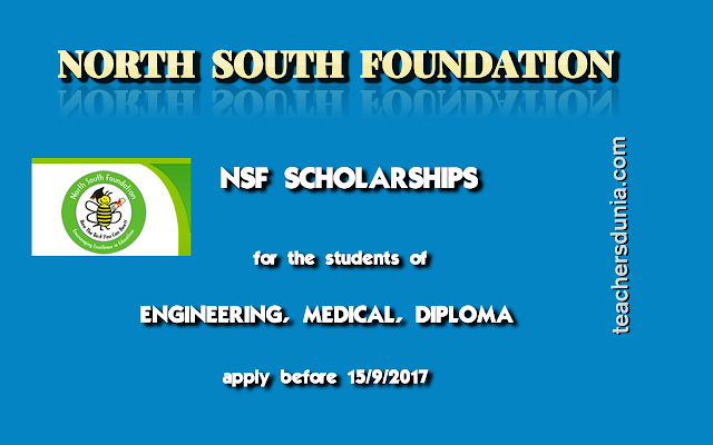 North-South-Foundation-NSF-Scholarships-2017-for-Technical-Courses