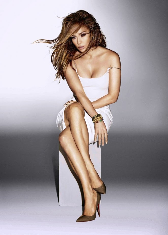Jennifer Lopez poses for the Bodylab and Endless Jewellery Campaigns for Sharper Image 2014