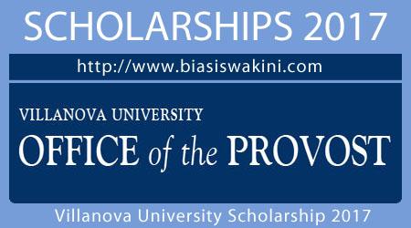 Villanova University Scholarship 2017