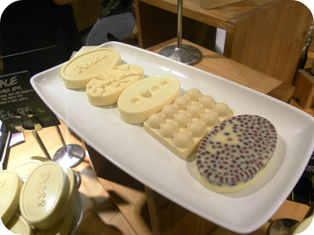 A picture of Lush massage bars