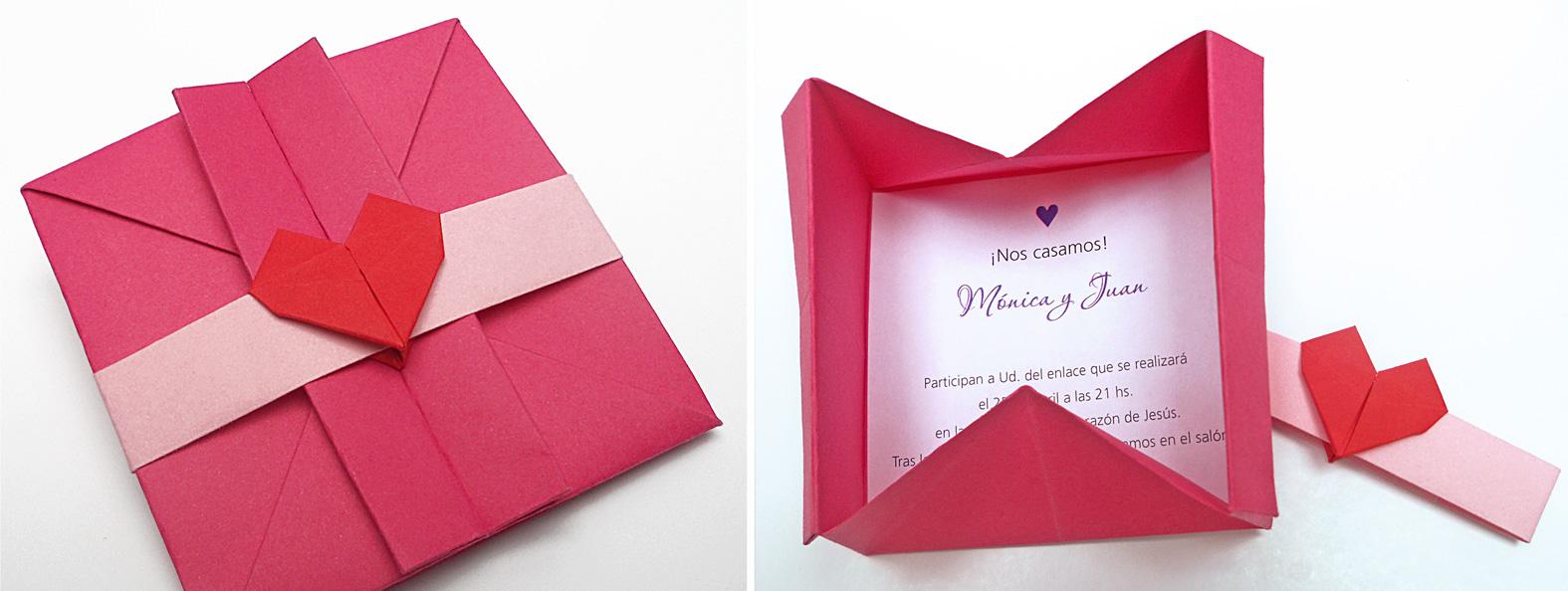 mas origami sobres en origami