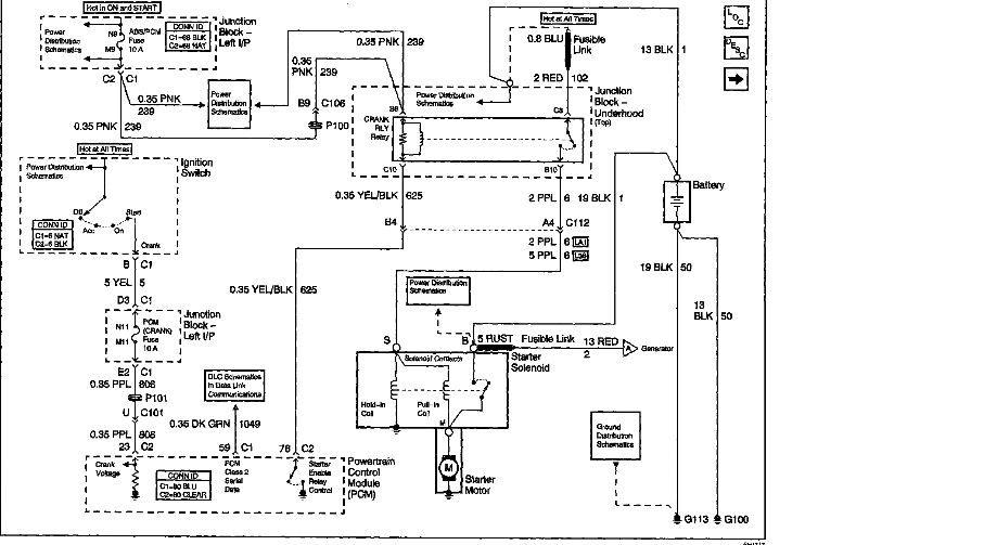 2002 Cadillac Deville Starting Wiring Diagram Html