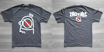 Zero Love Grey Edition T-Shirt by Zero Productivity x No Love City